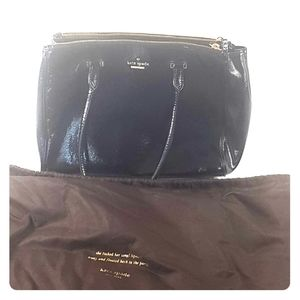 Kate spade black leather purse